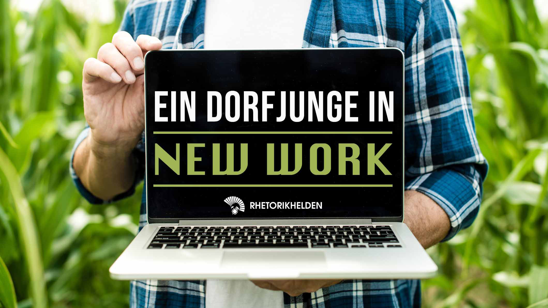 Grafik zum Keynotevortrag Ein Dorfjunge In New Work