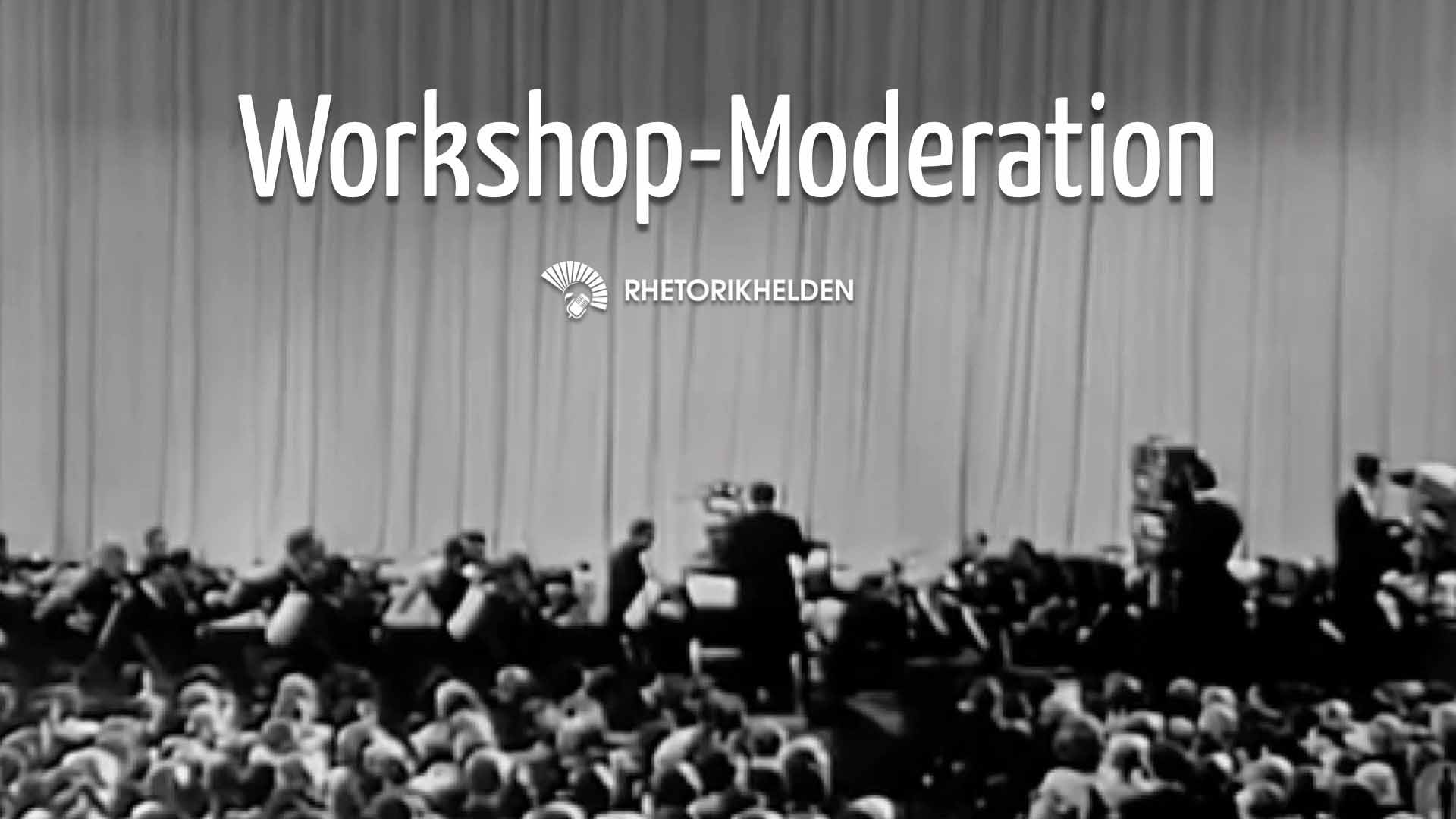 Präsentationsfolie zum Workshop Moderation: Workshop-Moderation
